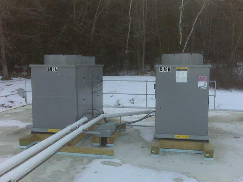 Monadnock Cooling HVAC Installation